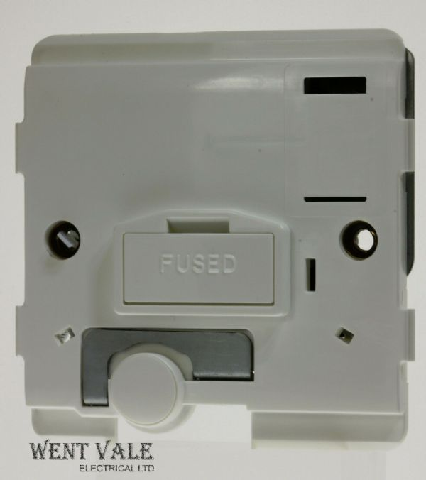 Legrand Mosaic - 0743 60 - 13ax Unswitched Connection Unit Body with Flex Outlet